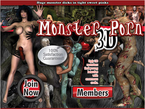 Ugly 3D monsters fuck young beauties with enormous cocks.