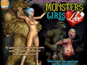 Scary Monsters Love To Fuck Young Pretty Girls. Lots of Bonuses Inside!