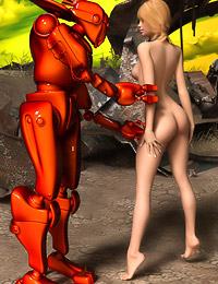 Another Planet, Where Robots and Hot Chicks Fuck